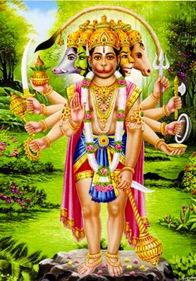 Lord Hanuman and Hanuman Chalisa @ Informationcorner com